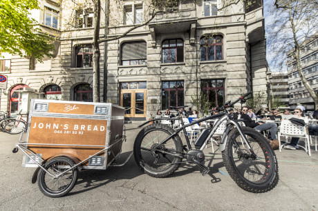 Bread Delivery per Elektroveloexpress